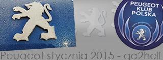 Peugeot miesiąca - Styczeń 2015