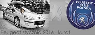 Peugeot miesiąca - Styczeń 2016
