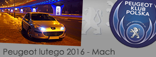 Peugeot miesiąca - Luty 2016