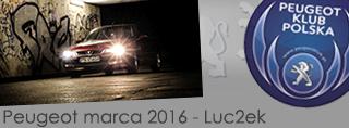 Peugeot miesiąca - Marzec 2016