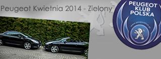 Peugeot miesiąca - Kwiecień 2014