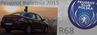 Peugeot miesiąca - Kwiecień 2015