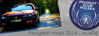 Peugeot miesiąca - Maj 2014
