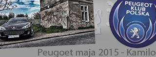 Peugeot miesiąca - Maj 2015
