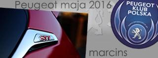 Peugeot miesiąca - Maj 2016