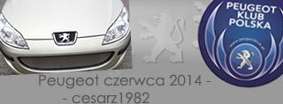 Peugeot miesiąca - Czerwiec 2014