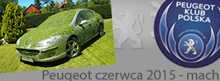 Peugeot miesiąca - Czerwiec 2015