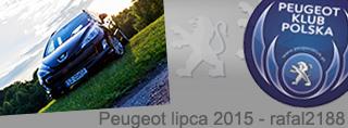 Peugeot miesiąca - Lipiec 2015