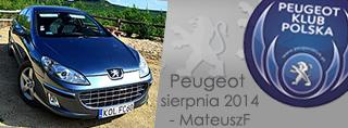 Peugeot miesiąca - Sierpień 2014
