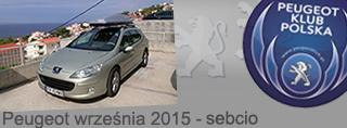 Peugeot miesiąca - Wrzesień 2015