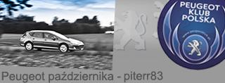 Peugeot miesiąca - Październik 2015