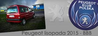 Peugeot miesiąca - Listopad 2015