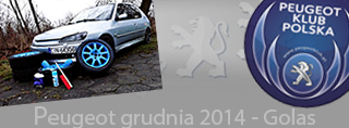 Peugeot miesiąca - Grudzień 2014
