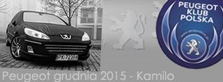 Peugeot miesiąca - Grudzień 2015
